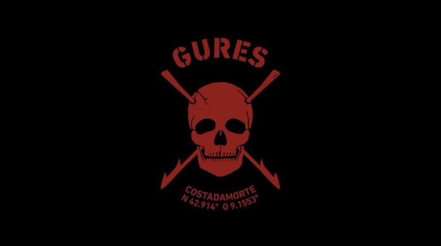 GURES logo rojo